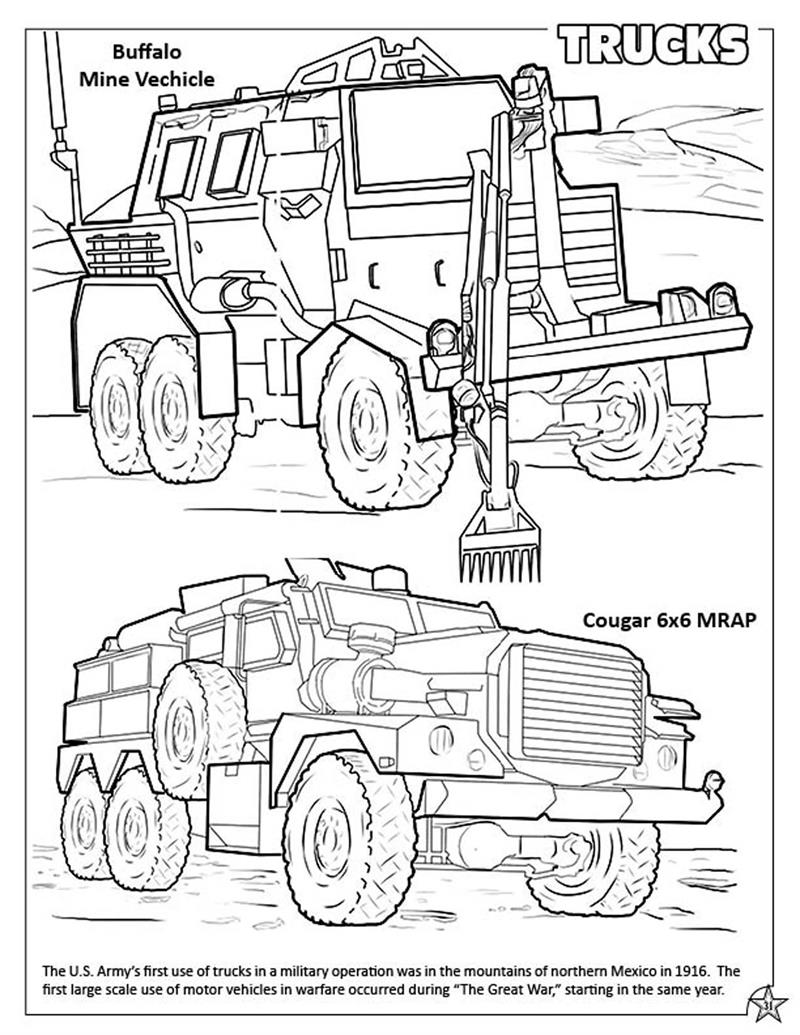 Coloring Book Publishers | U.S. Military Armed Forces Coloring ...