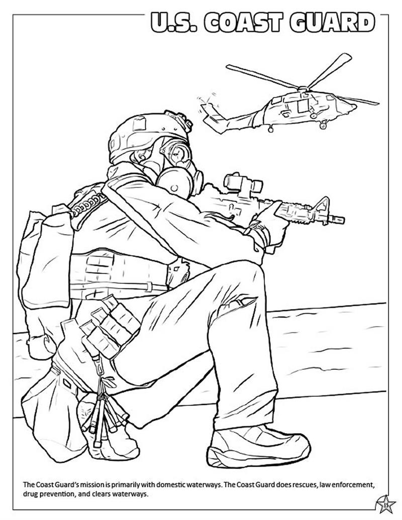 Coloring Book Publishers US Military Armed Forces