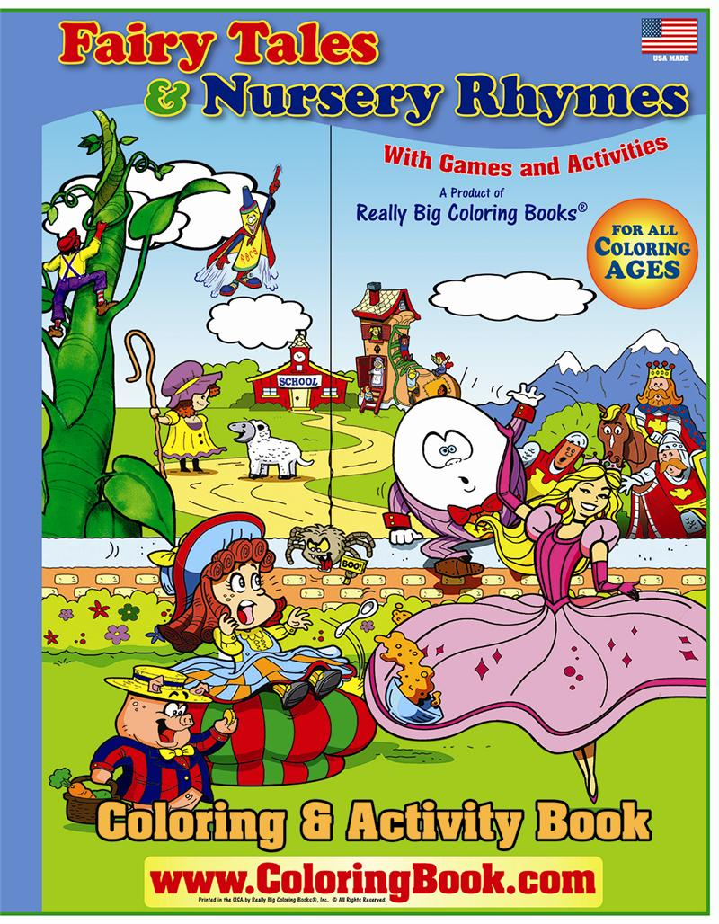 fairy tales and nursery rhymes big coloring book - Coloring Book Publishers