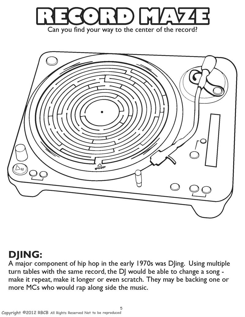 hop coloring pages - coloring book publishers the most dynamite hip hop