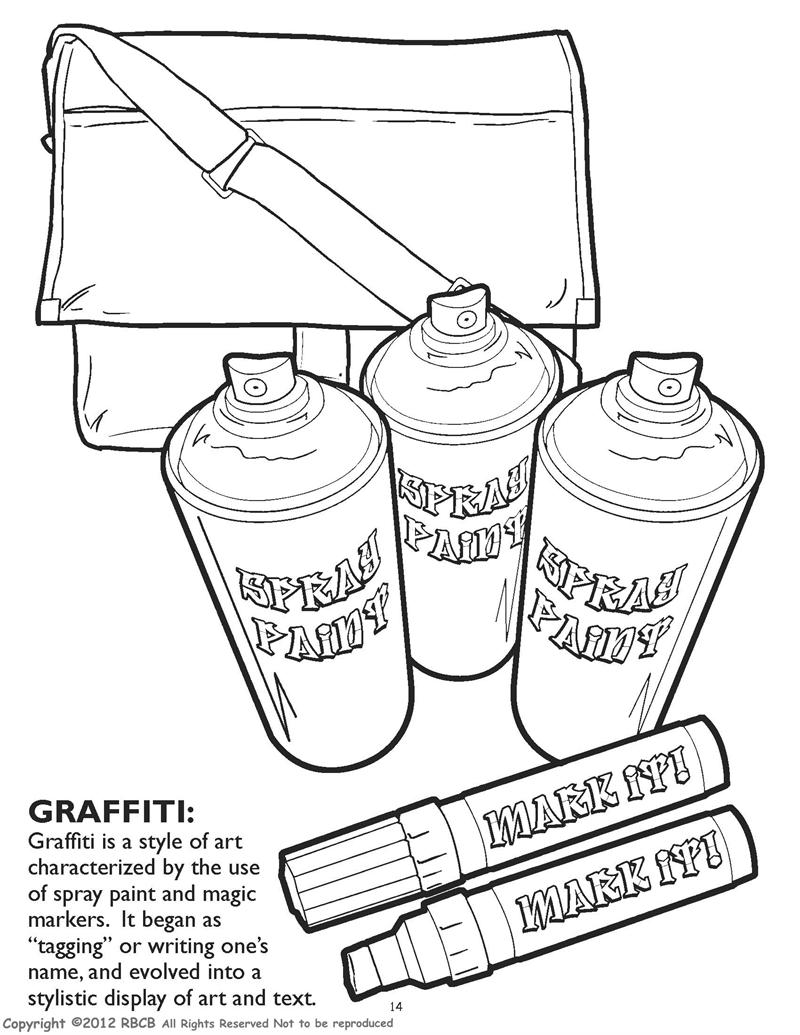 the most dynamite hip hop coloring book on the planet probably the universe 85 x 11 - Graffiti Coloring Book