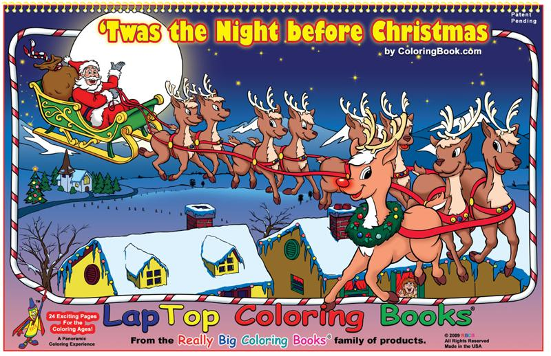 Twas the Night Before Christmas ... - Coloring Book Publishers