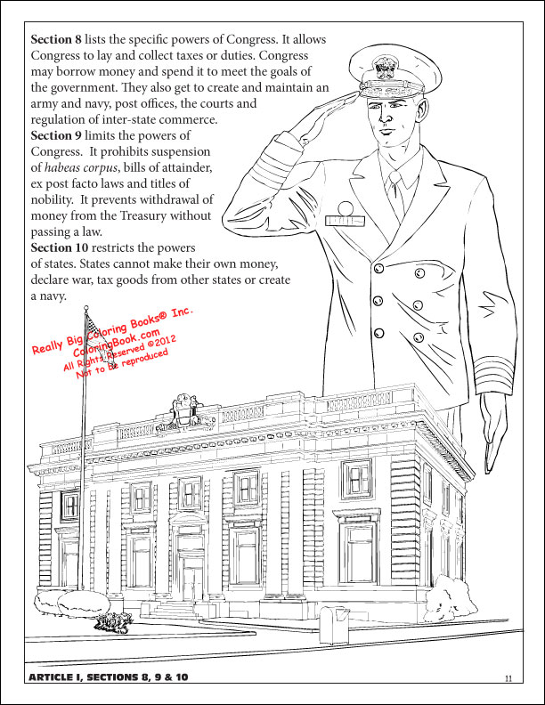 Coloring Book Publishers The U S Constitution Coloring