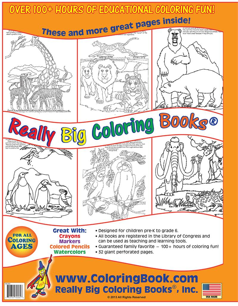 Zoo Animals Big Coloring Book