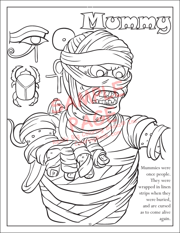 halloween coloring book 85x11 - Coloring Book Publishers