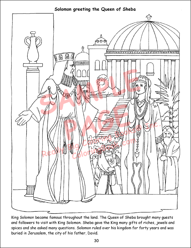 Coloring Book Publishers | Super Heroes of the Bible Big Coloring Book