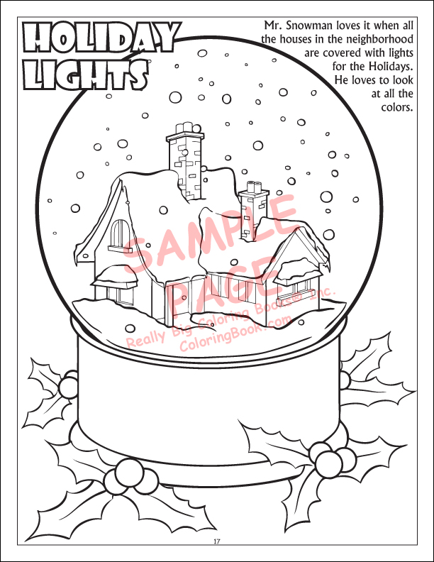 free coloring pages winter wonderland - photo#32