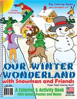 "Our Winter Wonderland Coloring Book (8.5""x11"")"