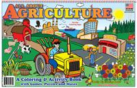 All About Agriculture Coloring Book