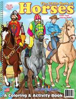 The Little Book of Horses Coloring Book