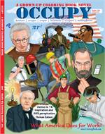 Occupy - A Grown-Up Coloring Book Novel (8.5