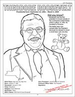 Roosevelt Coloring Page