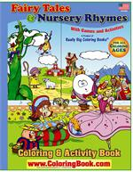 Fairy Tales and Nursery Rhymes Big Coloring Book